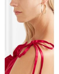 Jennifer Fisher - Metallic Baby Classic Gold-plated Hoop Earrings - Lyst