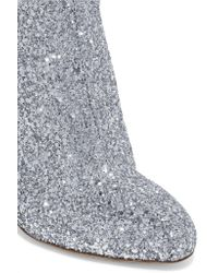 Brother Vellies Metallic Elevator Glittered Leather Boots