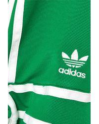 Adidas Originals Green + Ji Won Choi Jogginghose Aus Glänzendem Jersey Mit Streifen