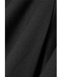 Pantalon Droit En Serge À Plis Creux McQ Alexander McQueen en coloris Black