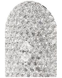 Anita Ko - Multicolor Saddle 18-karat White Gold Diamond Ring - Lyst