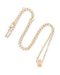 Pomellato - Metallic 18-karat Rose Gold Diamond Necklace - Lyst