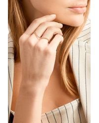 Sophie Bille Brahe - Metallic Grand L'ocean 18-karat Gold Diamond Two-finger Ring - Lyst
