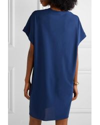 Mini-robe En Jersey Stretch Tali Eres en coloris Blue