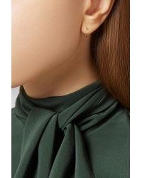Melissa Joy Manning - Metallic 14-karat Gold Hoop Earrings - Lyst