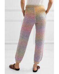 Pantalon De Survêtement En Mailles Blossom LoveShackFancy en coloris Multicolor