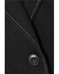 Lemaire - Black Belted Cotton Jacket - Lyst
