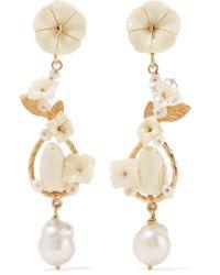 Of Rare Origin - Metallic Starling Gold Vermeil Multi-stone Earrings - Lyst