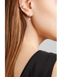 Anita Ko - Metallic 18-karat Rose Gold Diamond Ear Cuff - Lyst