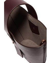 Carolina Santo Domingo Multicolor Amphora Mini Leather Tote