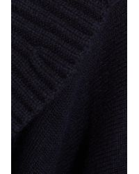 Burberry Blue Wool-blend Wrap
