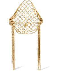 Rosantica - Metallic Aquilone Fringed Gold-tone Bracelet - Lyst