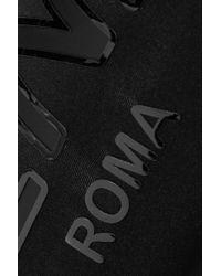 Fendi Black Roma Printed Stretch Leggings