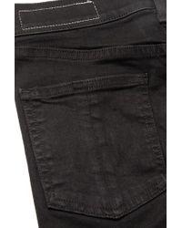Rag & Bone Black Verkürzte, Hoch Sitzende Skinny Jeans