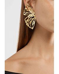 Jennifer Fisher Metallic Butterfly Gold-plated Earrings Gold One Size