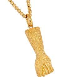 Carolina Bucci - Metallic Figa 18-karat Gold Necklace - Lyst