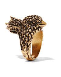 Gucci | Metallic Gold-tone Ring | Lyst