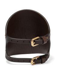 Valentino - Multicolor Embellished Leather Bracelet - Lyst