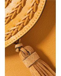 Chloé - Multicolor Hudson Mini Whipstitched Leather Shoulder Bag - Lyst
