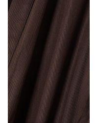 Bondi Born Brown + Net Sustain Minikleid Aus Lyocell Zum Binden