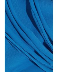 Mikoh Swimwear - Blue Barcelona Cutout Bikini Briefs - Lyst