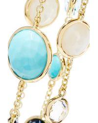 Ippolita - Metallic Rock Candy Lollitini 18-karat Gold Multi-stone Necklace - Lyst