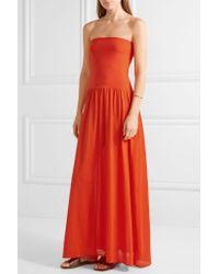 Eres Multicolor Zephyr Ankara Cotton-jersey Maxi Dress