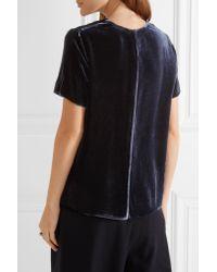 Vince Blue Velvet T-shirt