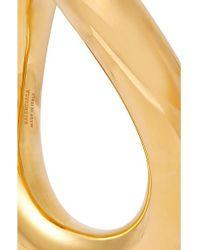 Balenciaga Metallic Goldfarbener Armreif