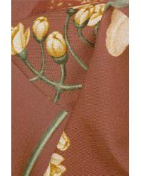 Maillot De Bain À Imprimé Fleuri Et À Découpes Newport Beach Johanna Ortiz en coloris Brown