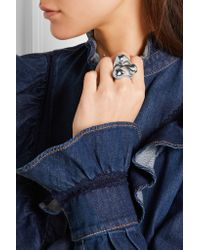Jennifer Fisher | Metallic Orb Silver-plated Ring | Lyst