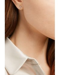 Suzanne Kalan - Multicolor 18-karat Rose Gold Diamond Earrings - Lyst