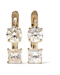 Ileana Makri - Metallic 18-karat Gold Diamond Earrings - Lyst