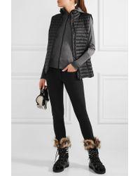 Mover Black Merino Wool Briefs