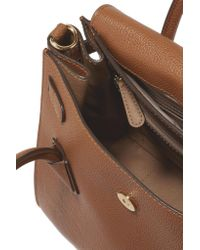 MICHAEL Michael Kors - Brown Mercer Convertible Textured-leather Backpack - Lyst