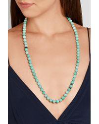 Carolina Bucci   Multicolor Recharmed Rhodium-plated, Amazonite And Diamond Necklace   Lyst
