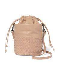 Bottega Veneta | Multicolor Intrecciato Leather Bucket Bag | Lyst