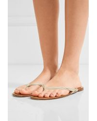 The Row | Multicolor Casablanca Leather Sandals | Lyst