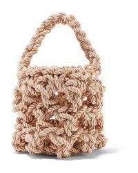 Rejina Pyo - Multicolor Sylvia Woven Satin Shoulder Bag - Lyst
