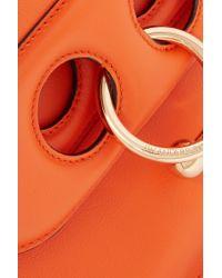 J.W. Anderson - Orange Pierce Mini Leather Shoulder Bag - Lyst
