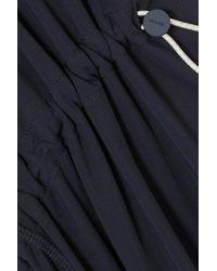 Robe Asymétrique En Jersey Stretch À Découpes Monse en coloris Blue