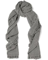 Étoile Isabel Marant - Multicolor Checked Wool Scarf - Lyst