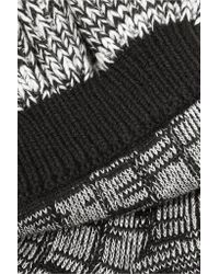 Alexander McQueen - Multicolor Ruffled Wool-blend Socks - Lyst