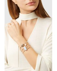 Melissa Joy Manning - Metallic 14-karat Gold, Sterling Silver And Labradorite Cuff - Lyst