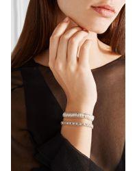 Chan Luu | Metallic Silver Beaded Bracelet | Lyst
