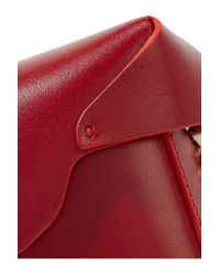MANU Atelier - Red Pristine Micro Leather Shoulder Bag - Lyst