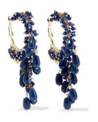 Rosantica | Blue Pascoli Gold-tone Quartz Earrings | Lyst