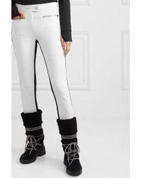 Pantalon De Ski Bicolore Jes Erin Snow en coloris White