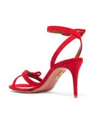 Aquazzura Black 'passion' Sandals