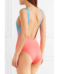 Solid & Striped | Multicolor The Anne-marie Ombré Swimsuit | Lyst